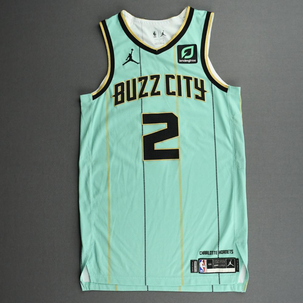 LaMelo Ball - Charlotte Hornets - Game-Worn City Edition Jersey - 2020-21 NBA Season