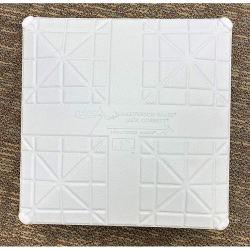 Photo of Cabrera Exclusive! Game-Used Base: Miguel Cabrera Career Hits 2,873 and 2,874 to tie and surpass Babe Ruth (MLB AUTHENTICATED)