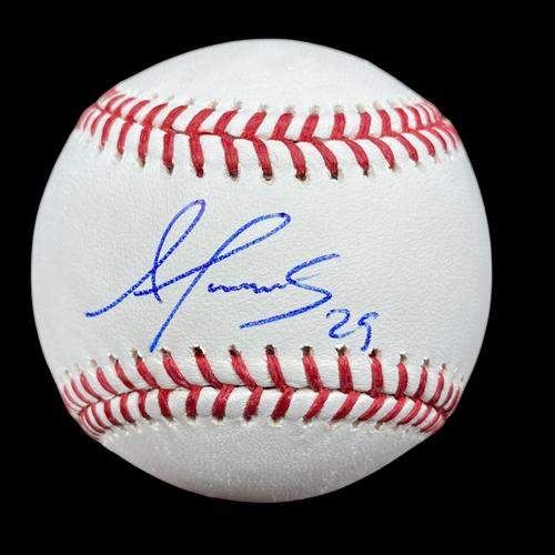 Photo of Alex Reyes Autographed Baseball