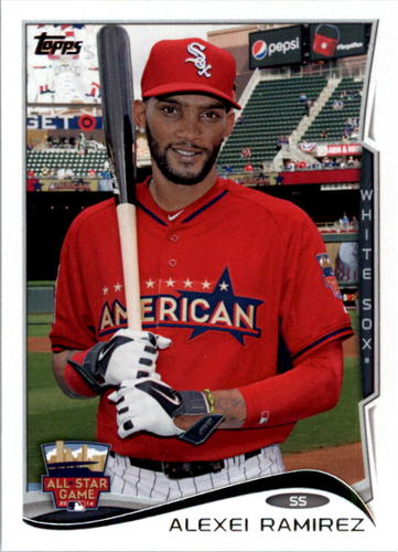 Photo of 2014 Topps Update #US309 Alexei Ramirez