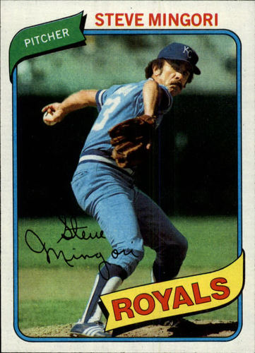 Photo of 1980 Topps #219 Steve Mingori