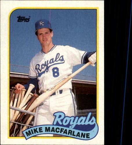 Photo of 1989 Topps #479 Mike Macfarlane RC