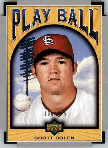 Photo of 2004 Upper Deck Play Ball Parallel 175 #62 Scott Rolen
