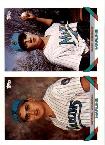 Photo of 1993 Topps #782 Reynol Mendoza/Dan Roman RC
