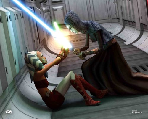 Ahsoka Tano and Barriss Offee