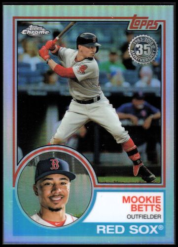 Photo of 2018 Topps Chrome '83 Topps #83T4 Mookie Betts