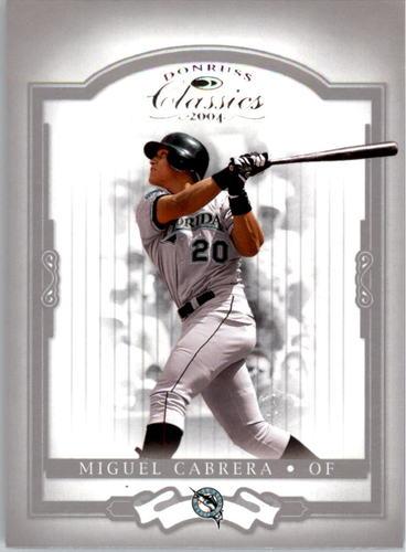 Photo of 2004 Donruss Classics #32 Miguel Cabrera