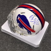 NFL - Bills Richie Incognito signed Bills mini helmet