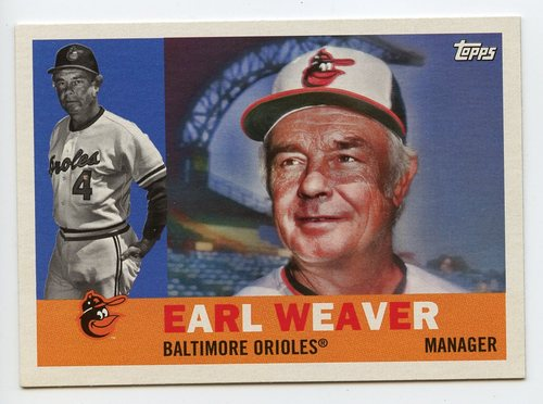 Photo of 2017 Topps Archives #3 Earl Weaver