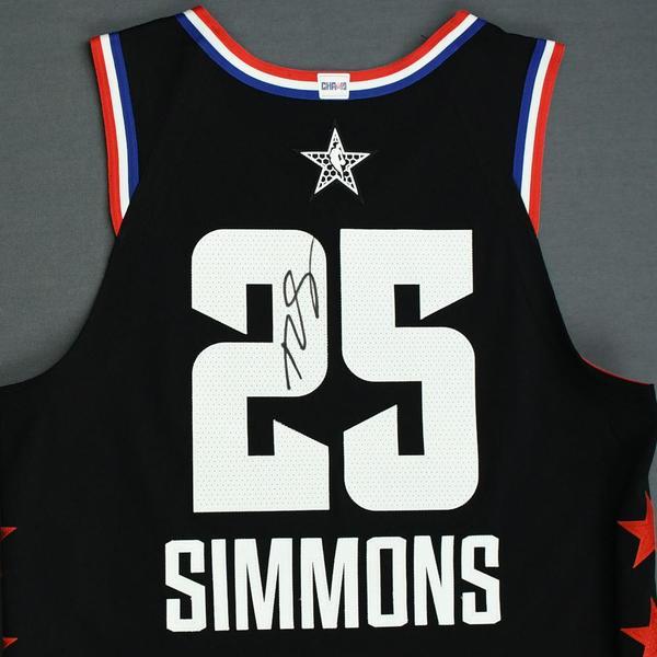 official photos b8721 e0951 Ben Simmons - 2019 NBA All-Star Game - Team LeBron ...