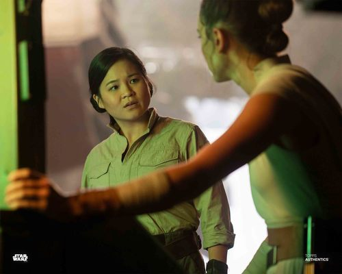 Rey and Rose Tico