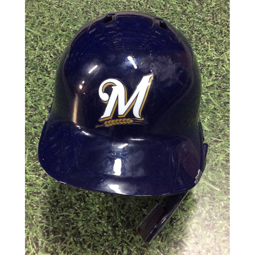 Photo of Orlando Arcia 2019 Team-Issued Batting Helmet