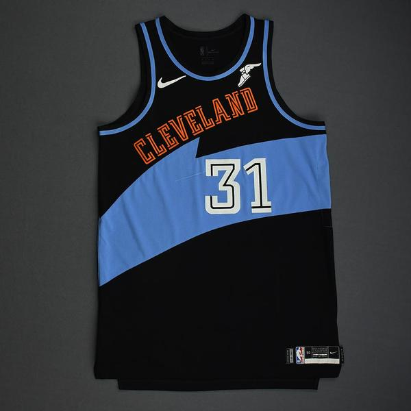 Image of John Henson - Cleveland Cavaliers - Game-Worn Classic Edition 1994-96 Road Jersey - 2019-20 Season