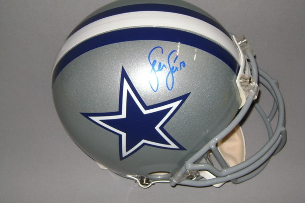 NFL - Cowboys Sean Lee signed Cowboys proline helmet