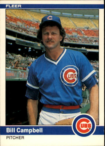 Photo of 1984 Fleer #489 Bill Campbell