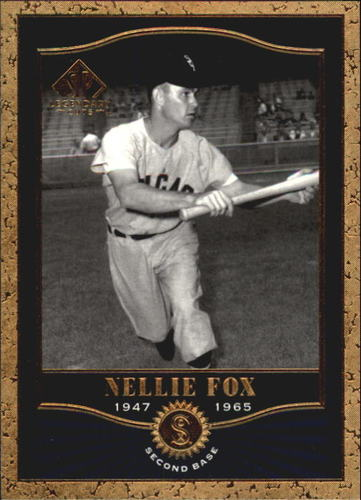 Photo of 2001 SP Legendary Cuts #76 Nellie Fox