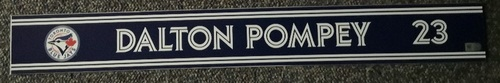 Photo of Authenticated Team Issued Locker Name Plate - #23 Dalton Pompey (2018 Season)