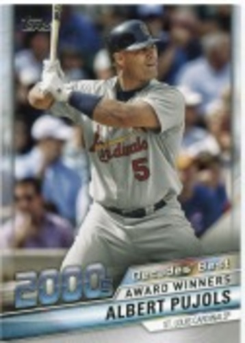 Photo of 2020 Topps Decades' Best Series 2 #DB86 Albert Pujols