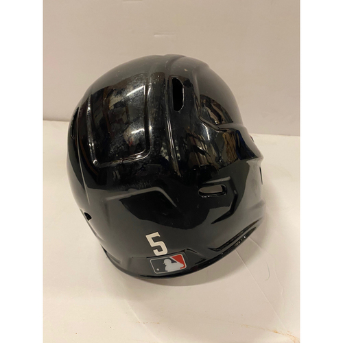 Photo of 2020 NL MVP & Silver Slugger: Freddie Freeman Game Used Home Helmet - Worn for First TWO Career Grand Slams and 1,500th Hit, WC Games and NLCS