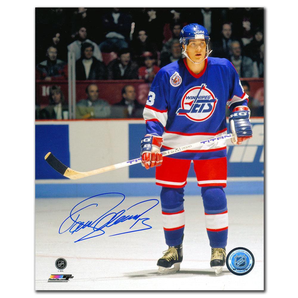 Teemu Selanne Winnipeg Jets Autographed 8x10