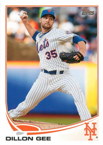 Photo of 2013 Topps #156 Dillon Gee