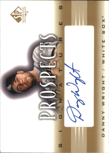 Photo of 2002 SP Authentic Prospects Signatures #PDW Danny Wright