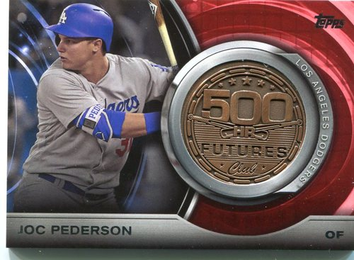 Photo of 2016 Topps Update 500 HR Futures Club Medallions Joc Pederson