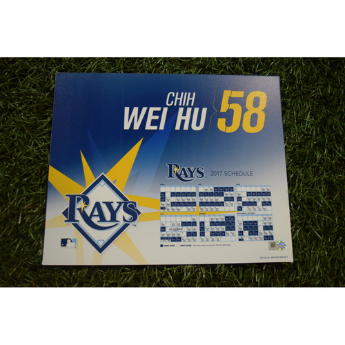 2017 Team-Issued Locker Tag - Chih-Wei Hu