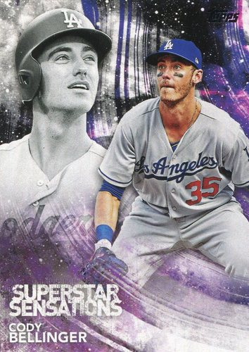 Photo of 2018 Topps Superstar Sensations #SSS40 Cody Bellinger