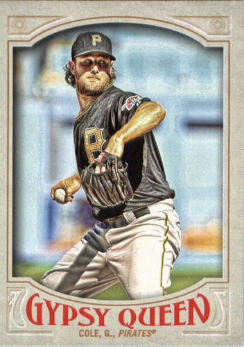 Photo of 2016 Topps Gypsy Queen #151A Gerrit Cole/Black jersey