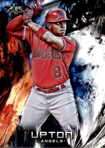 Photo of 2018 Topps Fire #131 Justin Upton