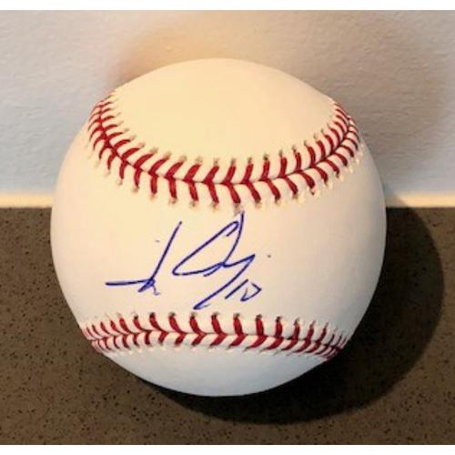 Photo of Johan Camargo Autographed Baseball