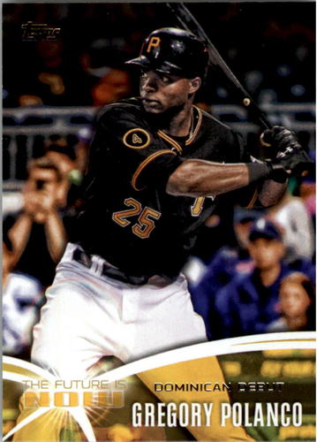 Photo of 2014 Topps The Future is Now #FNGP1 Gregory Polanco UPD