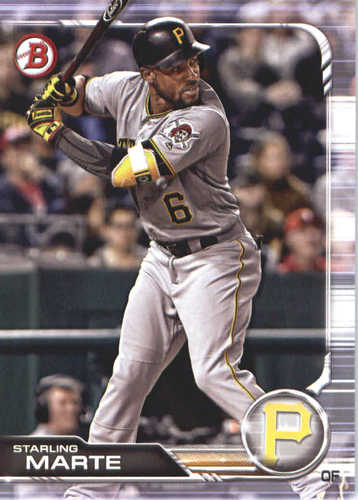 Photo of 2019 Bowman #68 Starling Marte