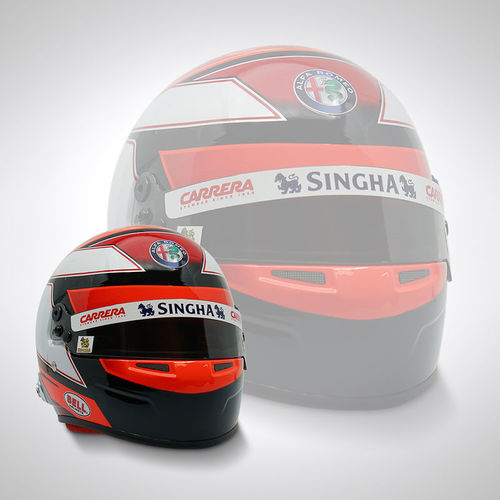 Photo of Kimi Raikkonen 2019 1:2 Scale Replica Helmet