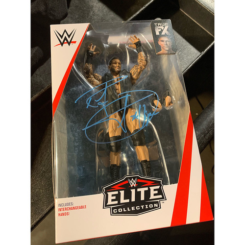 Photo of Randy Orton SIGNED Elite Series Action Figure