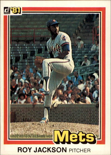 Photo of 1981 Donruss #36 Roy Lee Jackson RC