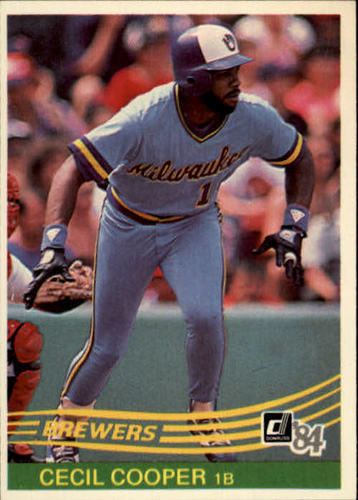Photo of 1984 Donruss #351 Cecil Cooper