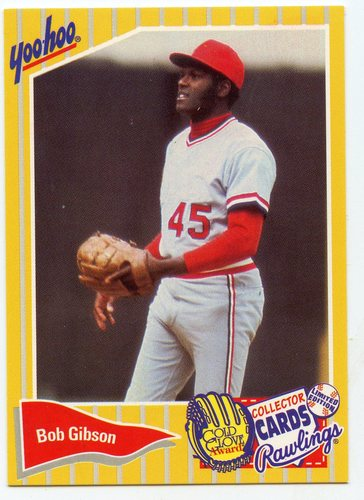 Photo of 1994 Yoo-Hoo #6 Bob Gibson