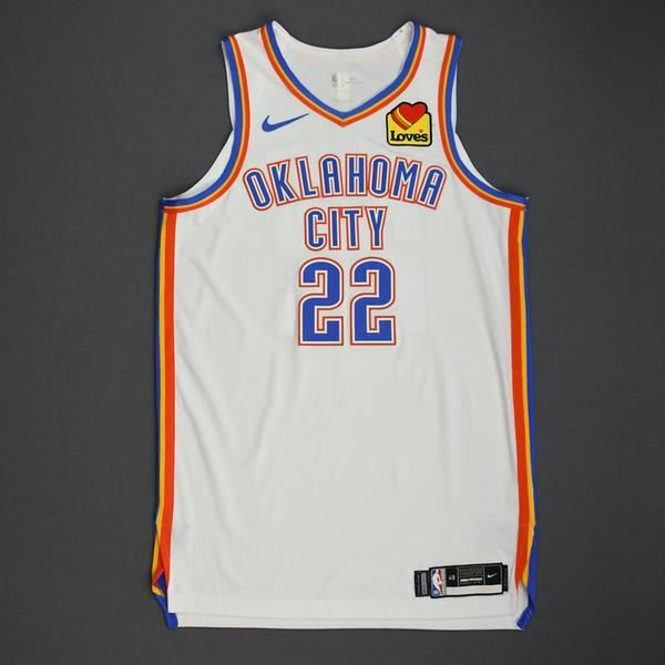 Image of Devon Hall - Oklahoma City Thunder - Game-Worn Association Edition Jersey - Dressed, Did Not Play - 2019-20 NBA Season