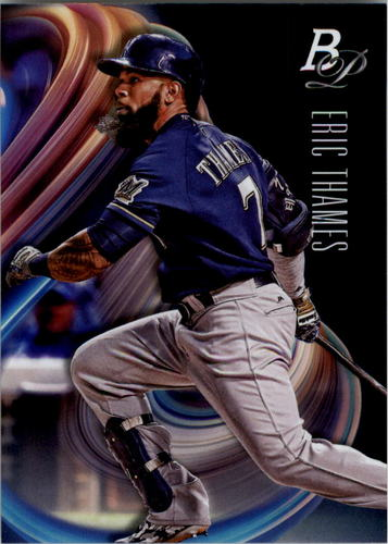 Photo of 2018 Bowman Platinum #52 Eric Thames