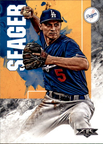 Photo of 2019 Topps Fire #44 Corey Seager