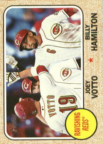 Photo of 2017 Topps Heritage Combo Cards #CC11 Billy Hamilton/Joey Votto