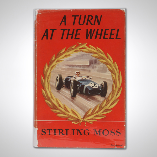 Photo of Sir Stirling Moss Signed Autobiography
