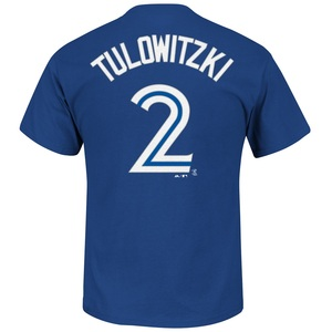 Toronto Blue Jays Troy Tulowitzki Player T-Shirt by Majestic