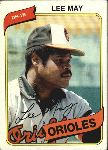 Photo of 1980 Topps #490 Lee May