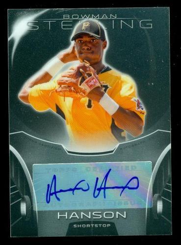 Photo of 2013 Bowman Sterling Prospect Autographs #AH Alen Hanson