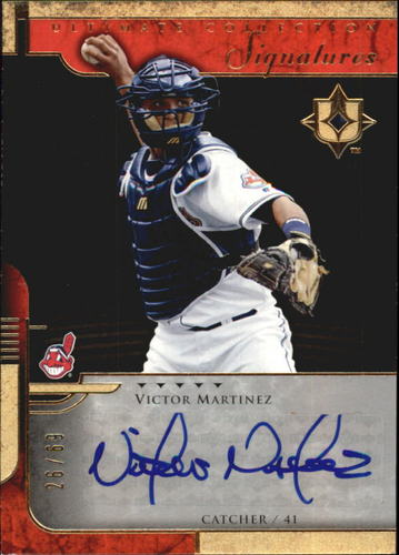 Photo of 2005 Ultimate Collection Signatures #VM Victor Martinez/69