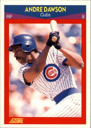 Photo of 1990 Score 100 Superstars #74 Andre Dawson