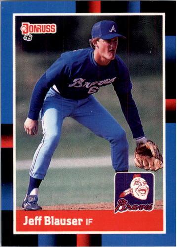 Photo of 1988 Donruss #513 Jeff Blauser RC